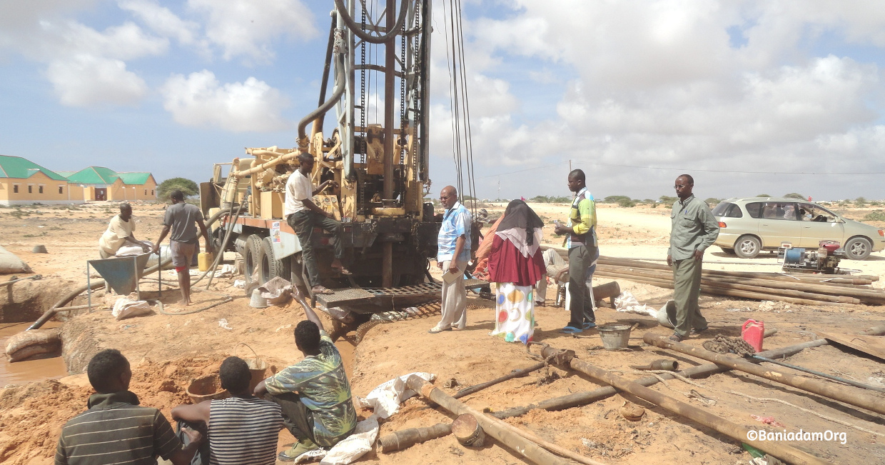 Baniadam sets up boreholes
